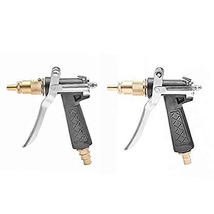 Autowsche-Wasserpistole-Hochdruckspray-Kupfer-Wasserdse-wSchlauchschnalle