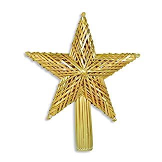 Weihnachtsschmuck-Baumspitze-Strohstern-30-cm-natur