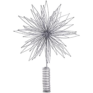 House-Doctor-Top-Star-Gunmetal-Christbaumspitze-Metall-Dia-25-cm