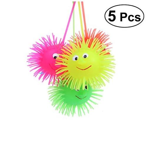 TOYMYTOY-5-stcke-Leuchtende-Kugel-Ball-Glhende-Igel-Elastizitt-Flash-Haar-Ball-Kinder-Lustige-Spielzeug-Gelegentliche-Farbe