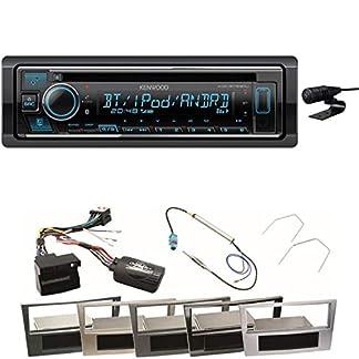 Kenwood-KDC-BT530U-MP3-AUX-WMA-Bluetooth-USB-WAV-1-DIN-FLAC-Autoradio-Freisprecheinrichtung-Einbauset-fr-Astra-H-Corsa-D-Zafira-B