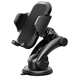 Mpow-KFZ-handyhalter-AutoGrip-Pro-2-Armaturenbrett-handyhalter-Windschutzscheibe-handyhalterkfz-Smartphone-Halterung-mit-starkem-klebrigem-Gel-Padhandyhalter-fr-Auto-fr-iPhoneXSGalaxy9-usw