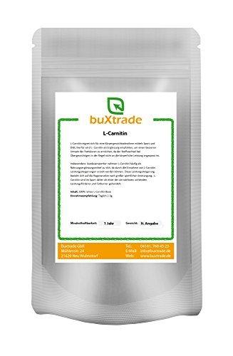 L-Carnitin Base | Pulver | Aminosäure | Nutrition VERSCHIEDENE GRÖßEN