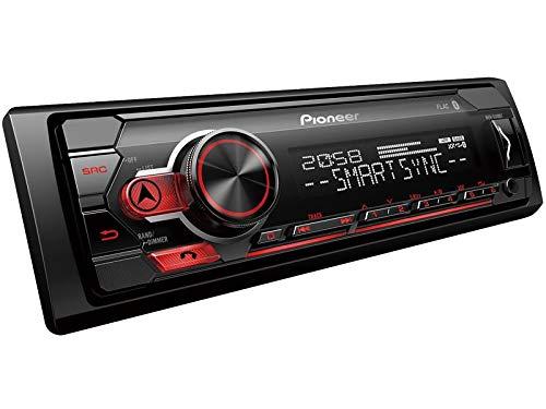 Pioneer-MVH-S310BT-1-DIN-Autoradio-mit-Bluetooth-ohne-CD-Laufwerk-Shortbody-fr-Renault-Clio-III-2005-2012-schwarz-Limo-Kombi