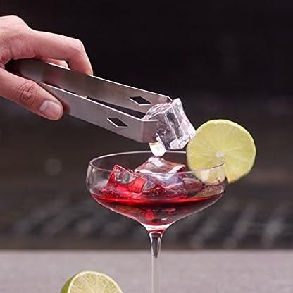 DELUXE-KitchenPRO-8-teiliges-Cocktail-Edelstahl-Bar-Set-mit-GRATIS-Cocktail-Rezeptbuch-u-Stnder-Cocktail-Mixer-Zange-Sieb-Korkenzieher-Flaschenffner-Werkzeughalter