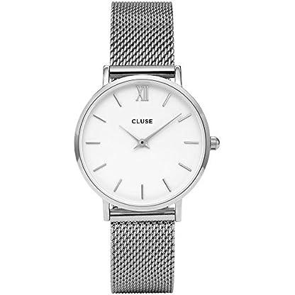 Cluse-Damen-Armbanduhr-Analog-Quarz-Edelstahl-CL30009