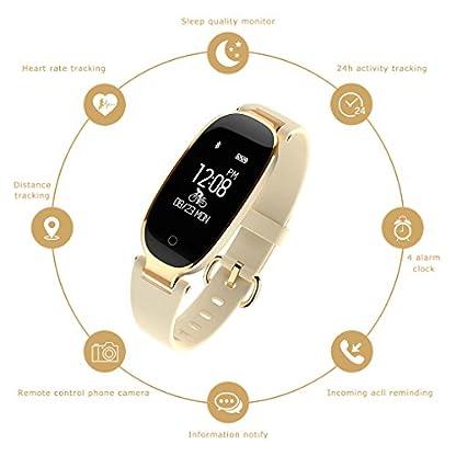 Frauen-Smart-Armband-JIAMEIYI-Fitness-Tracker-Pulsmesser-Wasserdicht-Aktivitt-Tracker-Smart-Band-Schlaf-Monitor-Smart-Watch-Schrittzhler-Armband-fr-iOS-Android-Handys