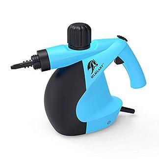 MLMLANT-dampfreiniger-Mehrzweck-350ml-Handdruckdampfreiniger-mit-11-teiligem-Zubehr-fr-Fleckenentfernung-Teppiche-Vorhnge-Bettwanzensteuerung-Autositze-MEHRWEG-Blau