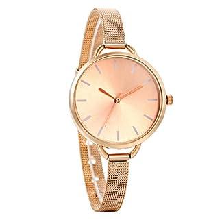 Avaner-Damen-Armbanduhr-Analog-Quarzwerk-mit-Edelstahl-Mesh-Armband-Rose-Gold-Avaner002