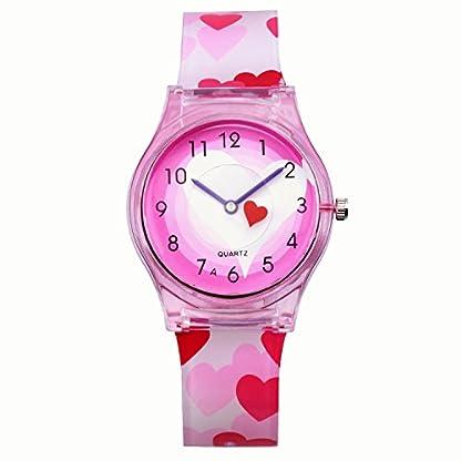 Jungen-Armbanduhren-KZKR-Kinderuhr-Mdchenuhr-Lernuhren-Quarz-Uhr-Silikon-Armbanduhr-Uhr-Silikon-Kinderuhr-3D-Cute-Cartoon-Uhr-Wasserdicht-Lehruhr-Geschenk-fr-Mdchen-Jungen-Kinder-Armbanduhr