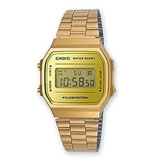 Casio-Unisex-Erwachsene-Digital-Quarz-Uhr-mit-Edelstahl-Armband