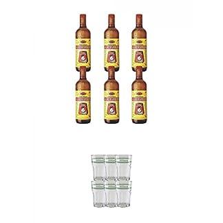 Velho-Barreiro-Silver-Cachaca-Originalabfllung-6-x-10-Liter-Velho-Barreiro-Caipirinha-Glas-6-Stck