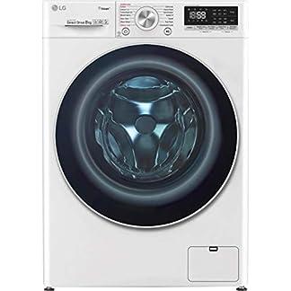 LG-F4WV708P1-Freistehend-Frontlader-8-kg-1360-Girimin-A-40-Wei-Waschmaschine