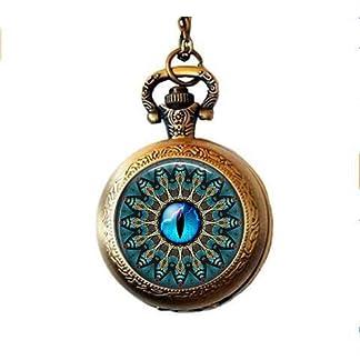 b2b-Mandala-mit-Blau-Cat-s-Eye-Taschenuhr-Halskette-Mandala-mit-Blau-Cat-s-eyepocket-Armbanduhr-Halskette