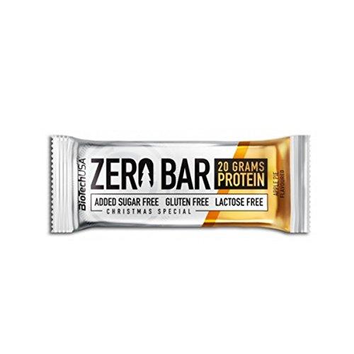 BiotechUSA ZERO Bar 20*50g Schoko-Chip Cookies – Eines der besten Proteinriegel – 45% Protein, 0% Zucker, Laktosefrei, Glutenfrei. Sportriegel mit Stevia. …
