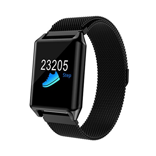 EARS-Health-Fitness-SmartWatch-Mehrere-Fitness-Modi-bung-Herzfrequenz-Schrittzhler-Uhr-Intelligente-Armbanduhr-Fitness-Tracker-Armband-Sport-Uhr-mit-Kompatibel-mit-Android-Smartphone