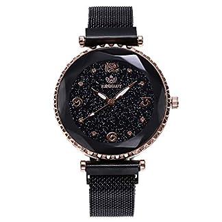 A-Artist-Damen-Armbanduhr-Ultra-flach-Slim-Uhr-mit-Leder-Armband-Edelstahl-Mesh-Armband-Uhren-Wasserdicht-Geschfts-Klassisch-Analog-Quarz-Dnn-Armbanduhr-Luxus-Elegant-Uhr-Zifferblat