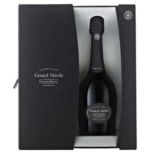 Champagne-Laurent-Perrier-Grand-Sicle-par-mit-Geschenkverpackung-Brut-1-x-075-l