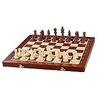 KADAX-Turnier-Schachspiel-aus-hochwertigem-Holz-49-x-49-cm-Schach-fr-Erwachsene-Anfnger-tragbares-Schachbrett-mit-Figuren-Schachkassette-leicht-zu-transportieren-klappbar