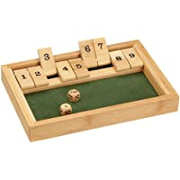 Philos-3270-Shut-The-Box-9er-Bambus-Green-Games-Wrfelspiel-Klappenspiel