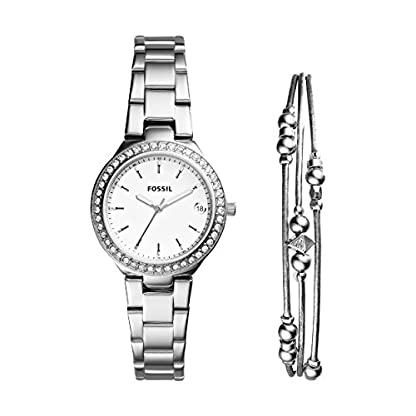 Fossil-Damen-Armbanduhr-ES4336SET