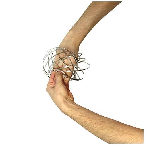 com-four-Magisches-Armband-aus-Metall-Flow-Ring-fr-Kinder-und-Erwachsene-Kinetisches-Spielzeug