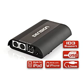 DENSION-GATEWAY-500S-GW53MO1-iPhone-iPod-USB-AUX-fr-Audi-BMW-Mercedes-Porsche-mit-MOST-BUS-Single-FOT