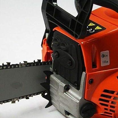 Powertech-Benzin-Kettensge-52cc-inklusiv-2-Ketten-Motorkettensge-Kettensgen