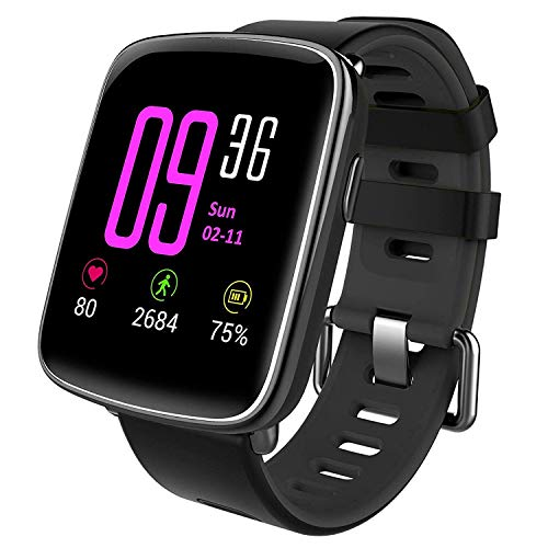 SmartwatchYAMAY-Bluetooth-Smart-Watch-Uhr-mit-Pulsmesser