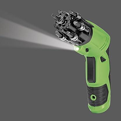 EASYmaxx-06656-Li-ion-Akkuschrauber-36V-2000mAh-Bit-Trommel-LED-Licht-flexiblen-Gelenkgriff-Akkuwerkzeug-fr-Heimwerkerbedarf-Schnurloser-Winkelschrauber