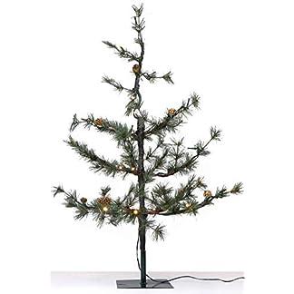 Gartenpirat-Knstlicher-Weihnachtsbaum-Pinie-90-cm-mit-Beleuchtung-40-LED