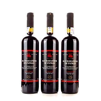 3x-750ml-Mavrodaphne-Loukatos-Rotwein-im-Set-15-Vol-griechischer-Swein-Likrwein-Dessertwein-10ml-kretisches-Olivenl-Sachet-zum-testen-gratis