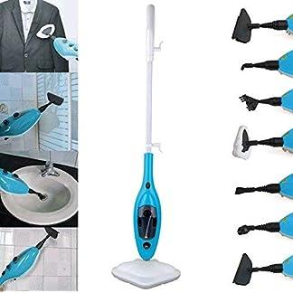 Aqua-Eco-Brilliant-Dampfreiniger-Dampfmop-steam-cleaner-Dampfbesen-mit-Handampfreiniger-Funktion