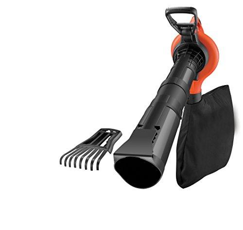 BlackDecker-Laubsauger-und-Blser-GW3050-mit-Hcksler-und-Laubrechen-50l-Fangsack-3000W-Extrem-stark-mit-variabler-Blasgeschwindigkeit-Rckenschonende-Benutzung