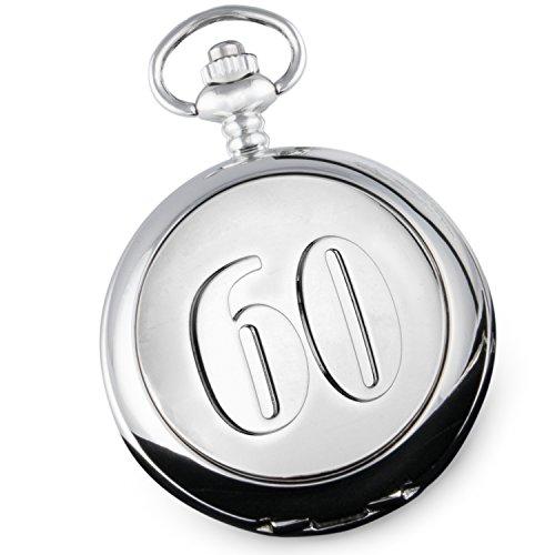 60-Hochzeitstag-Taschenuhr-Herren-Diamant-60-Hochzeitstag-Geschenk