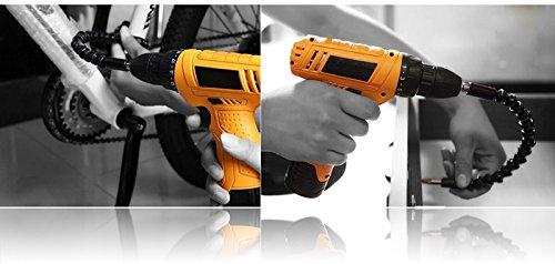 itimo-295-mm-Schraubendreher-Universal-Schaft-Flexibler-Schaft-HEX-Flex-Elektrischer-Bohrer-Erweiterung-Schraubendreher-Bithalter-Connect-Rod-Link