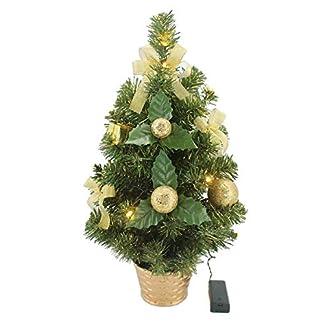Krystal-50-cm-komplett-geschmckt-dekoriert-Knstlicher-Weihnachtsbaum-mit-10-LED-und-Gold-Deko-batteriebetrieben-warmwei