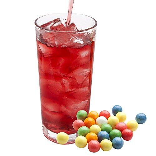 Bubble Gum rosa Geschmack extrem ergiebiges Getränkepulver für Isotonisches Sportgetränk Energy-Drink ISO-Drink Elektrolytgetränk Wellnessdrink