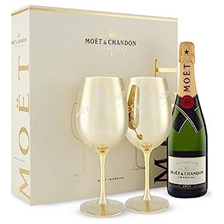 Mot-Chandon-Brut-Imprial-Gold-Glas-Champagner-Geschenk-Set-mit-2-goldenen-Glsern-in-Geschenkverpackung-1-x-075-l