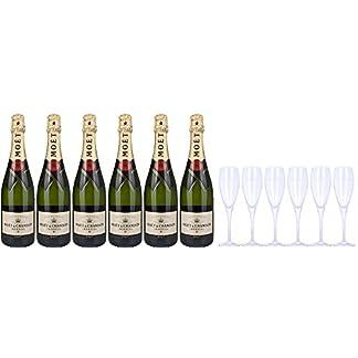 Moet-Chandon-Brut-Champagner-Imperial-Set-mit-Geschenkverpackung-mit-6-Glser-6-x-075l