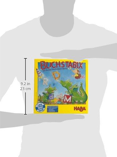Haba-300143-Buchstabix-Lernspiel
