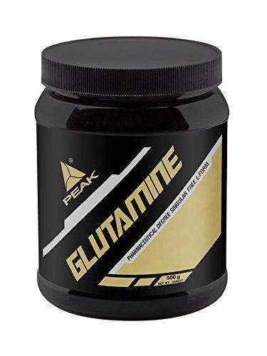 Peak Glutamin, Neutral, 500 g