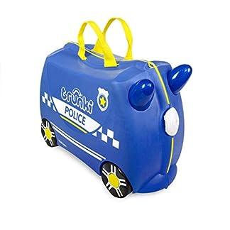 trunki-Ride-On-Koffer-befahrbarer-Kindertrolley-46-cm-Percy-Police