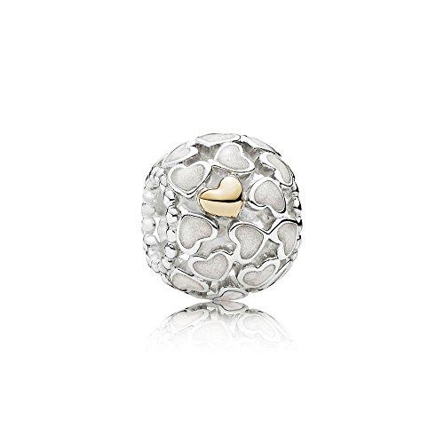 Pandora Damen-Charm Schimmernde Liebe im Überfluss 925 Silber – 791283EN23