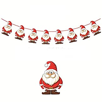 vige-Weihnachtswand-hngende-Tropfen-Verzierungen-Weihnachtsfahnen-Weihnachtsdekorationen