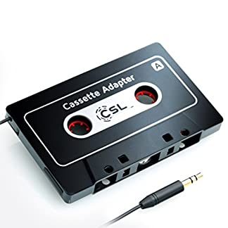 HQ-Autoradio-Kassettenadapter-AUX-KFZ-Autoradio-Kassenadapter-Neues-Modell-Car-Audio-Cassette-Adapter-35-mm-Klinkenbuchse-fr-iPod-iPhone-MP3-Handy-Smartphone-Verbindung