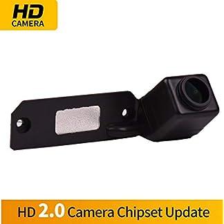 HD-Wasserdicht-Rckfahrkamera-in-Kennzeichenleuchte-Einparkhilfe-Kamera-Nachtsicht-Einparkkamera-fr-VW-Caddy-Golf-MK4-Golf-R32-Passat-B5-B6-Golf-IV-Plus-Sharan-Touran-T5-Skoda-Superb