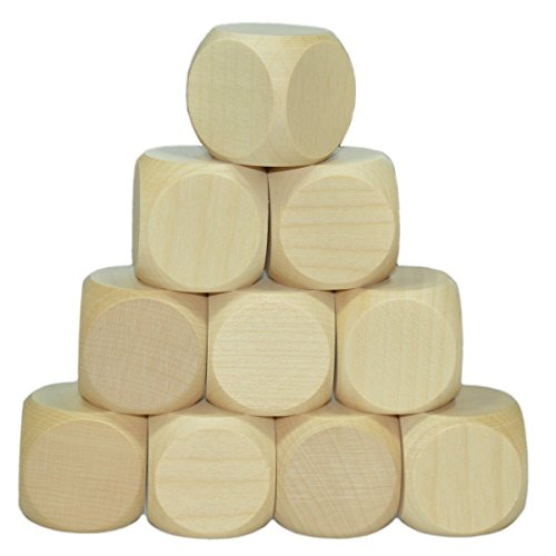 10-x-Blankowrfel-Holzwrfel-blanko-20mm-roh-unbehandelt-mit-2cm-Kantenlnge