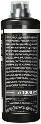 Mammut L-Carnitin Liquid, Limettengeschmack, trinkfertig,  1000 ml Flasche