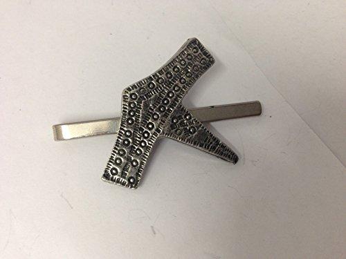 Thor 's Hammer Thors/KR English Pewter Emblem auf eine Krawatte Clip (Slide)